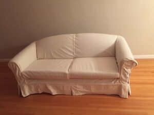 Couch (Hide-a-bed) & comfy chair - $190 Edmonton Edmonton Area image 1