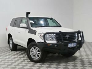2013 Toyota Landcruiser VDJ200R MY13 GXL (4x4) White 6 Speed Automatic Wagon East Rockingham Rockingham Area Preview