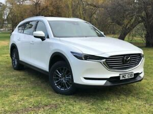 2019 Mazda CX-8 KG2W2A Sport SKYACTIV-Drive FWD White 6 Speed Sports Automatic Wagon Bridgewater Adelaide Hills Preview