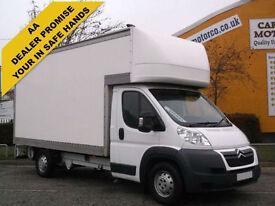2012/ 12 Citroen Relay 35 L4 xLWB Luton Box Van 2.2HDi [ 150ps ] Fwd (Heavy)