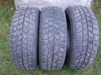 3-225/60R16 M+S KINGSTAR WINTER TIRES, WILL SELL SINGLES