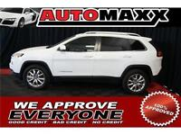 2014 Jeep Cherokee Limited $209 Bi-Weekly! APPLY NOW DRIVE NOW!
