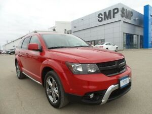 2016 Dodge Journey Crossroad AWD, Nav, leather, rem. start, sunr