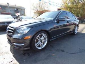 2014 MERCEDES-BENZ C300 4MATIC (95,000 KM, TOIT, CUIR, FULL!!!)