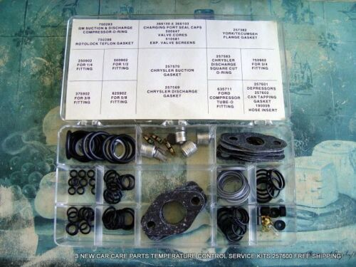 3 NEW CAR CARE PARTS TEMPERATURE CONTROL SERVICE KITS 257600 FREE SHIPPING!