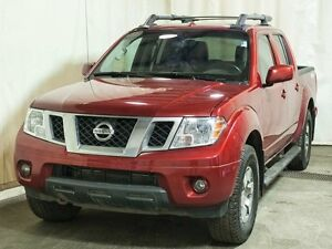 2013 Nissan Frontier PRO-4X 4x4 Crew Cab w/ Navigation, Leather,