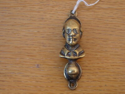 Solid brass doorknocker William Shakespeare