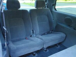 2003 Kia Sedona rear seats