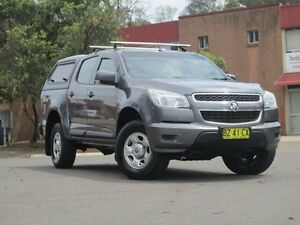 2014 Holden Colorado RG MY14 LX Crew Cab Grey 6 Speed Sports Automatic Utility Kings Park Blacktown Area Preview