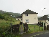 Spectacular views and neat decoration - two bed flat available immediately in Maerdy