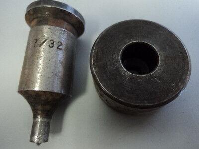 "1/"" Round x 3-1//2 Long Moeller Die PUNCH Steel Cutting OBI Hydraulic press Tool"