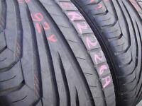 225/40/18 Uniroyal Rain Sport 3, XL x2 A Pair, 6.4mm (168 High Road, Romford, RM6 6LU) Second Hand