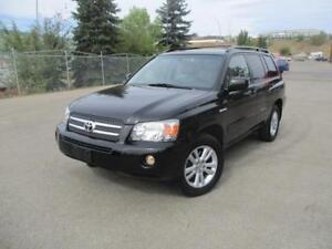 2006 Toyota Highlander Limited Low Kms 7 Seater AWD