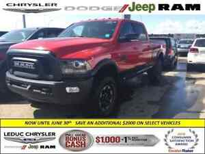 2017 Ram 2500 Power Wagon LEATHER HEATED/VENT SEATS NAV LUXURY G