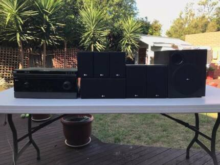 Home Entertainment – Surround Sound System & DVD Recorder