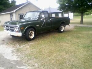 1971 GMC NOT WINTER DRIVEN