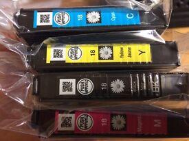 Printer ink - 8 cartridges multi colour Epson daisy