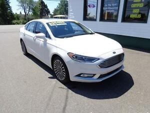 2017 Ford Fusion SE AWD for $201 bi-weekly all in!