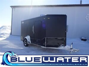 6x15 Legend Deluxe V-Nose, BLACKOUT! Ramp door! ONLY $107/MONTH! London Ontario image 1