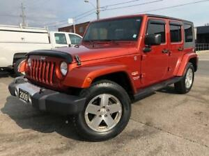 2009 Jeep Wrangler Unlimited Sahara **LEATHER-NAVIGATION-AUTO**