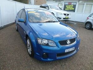 2010 Holden Commodore VE II SV6 Blue 6 Speed Automatic Sedan Sylvania Sutherland Area Preview