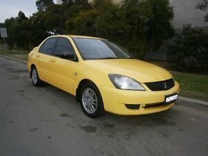 2007 Mitsubishi Lancer CH MY07 ES Yellow 4 Speed Auto Sports Mode Sedan South Windsor Hawkesbury Area Preview