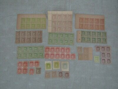 Nystamps German States Hamburg mint old stamp & block collection high value