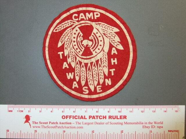 Boy Scout Camp Tawasentha felt NY 9797X