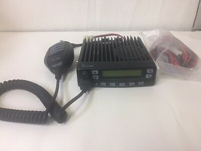 Icom Ic-f621-2 Uhf Mobile Radio 440-490 Mhz Microphone Power Cable