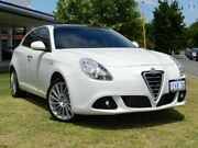 2014 Alfa Romeo Giulietta Series 0 MY13 Distinctive TCT JTD-M White 6 Speed Victoria Park Victoria Park Area Preview