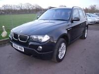 BMW X3 D SE FSH, Black, Manual, Diesel, 2006
