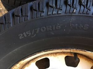 Tires and rims (1 Season on them)