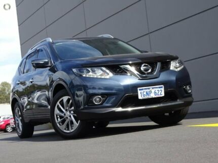 2014 Nissan X-Trail T32 Ti X-tronic 4WD Blue 7 Speed Constant Variable Wagon Maddington Gosnells Area Preview