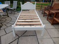 Solid Pine 3 Foot Single Bed Shabby Chic