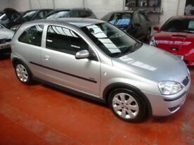 VAUXHALL CORSA SXI 16V TWINPORT (silver) 2006
