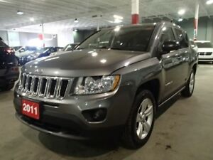 2011 Jeep Compass Sport, North Edition 4X4 +Sunroof