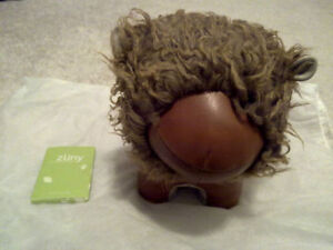 NEW Lion Zuny Door Stop Book End Brown Gift Baby