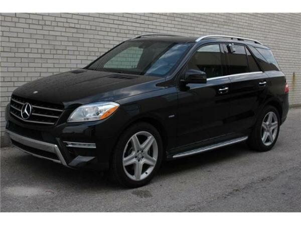 Mercedes benz ml m class amg for sale canada for Used mercedes benz toronto