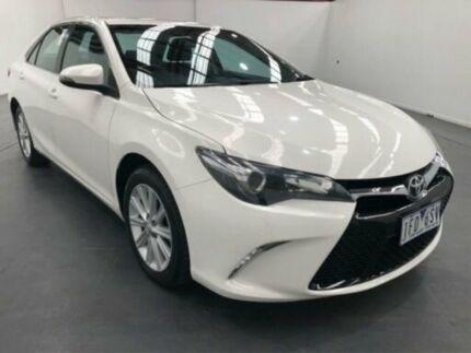 2015 Toyota Camry ASV50R Atara S White 6 Speed Automatic Sedan Fyshwick South Canberra Preview