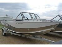 Hit the rivers or lakes in the Sportjet! Call Tristan today!
