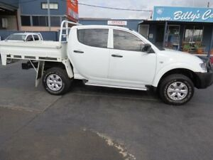2014 Mitsubishi Triton MN MY14 Update GLX (4x4) White 5 Speed Manual 4x4 Condell Park Bankstown Area Preview