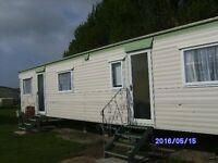 3 bed holiday caravan to rent at bunn leisure selsey west sussex