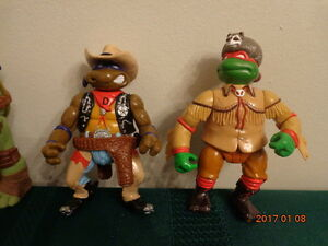 Teenage Mutant Ninja Turtle Figures:  All for $10.00!
