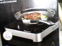 INDUCTION HOB SINGLE FREE STANDING (BRAND NEW