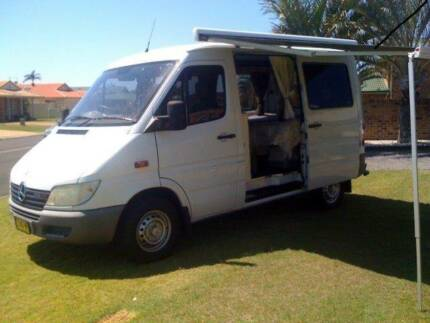 2002 MERCEDES SPRINTER 208 CDI CAMPERVAN East Ballina Ballina Area Preview