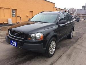 AS IS SPECIAL 05 Volvo XC-90, 7seats, DVD, sunroof,leather,AWD