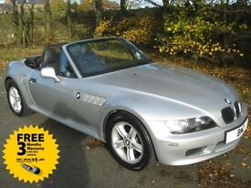 2001 Y-reg BMW Z3 1.9 Convertible with mega service history file excellent condition future classic