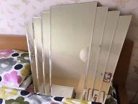 Art Deco Overmantle Wall Mirror (John Lewis) 86.3 x 101cm