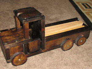 WOODEN TOY TRUCK [price lowered]