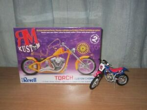 Torch Custom Chopper By: Revell + Motorcycle Toy